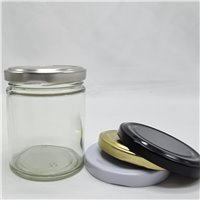 190ml Panel Straight Sided Jar (30 per pack)