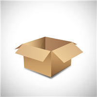 A4 Low White Carton Box (Pack of 25)