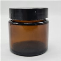 65ml Pomade Amber Jar with Lids (Pack of 42)