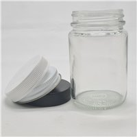 125ml Pomade Flint Jar with Lids (Pack of 42)