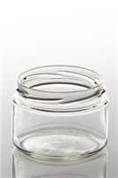 282ml Round Squat Glass Jar (15 Per Pack)