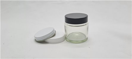 65ml Clear Pomade Jar with Lids (Pack of 42)