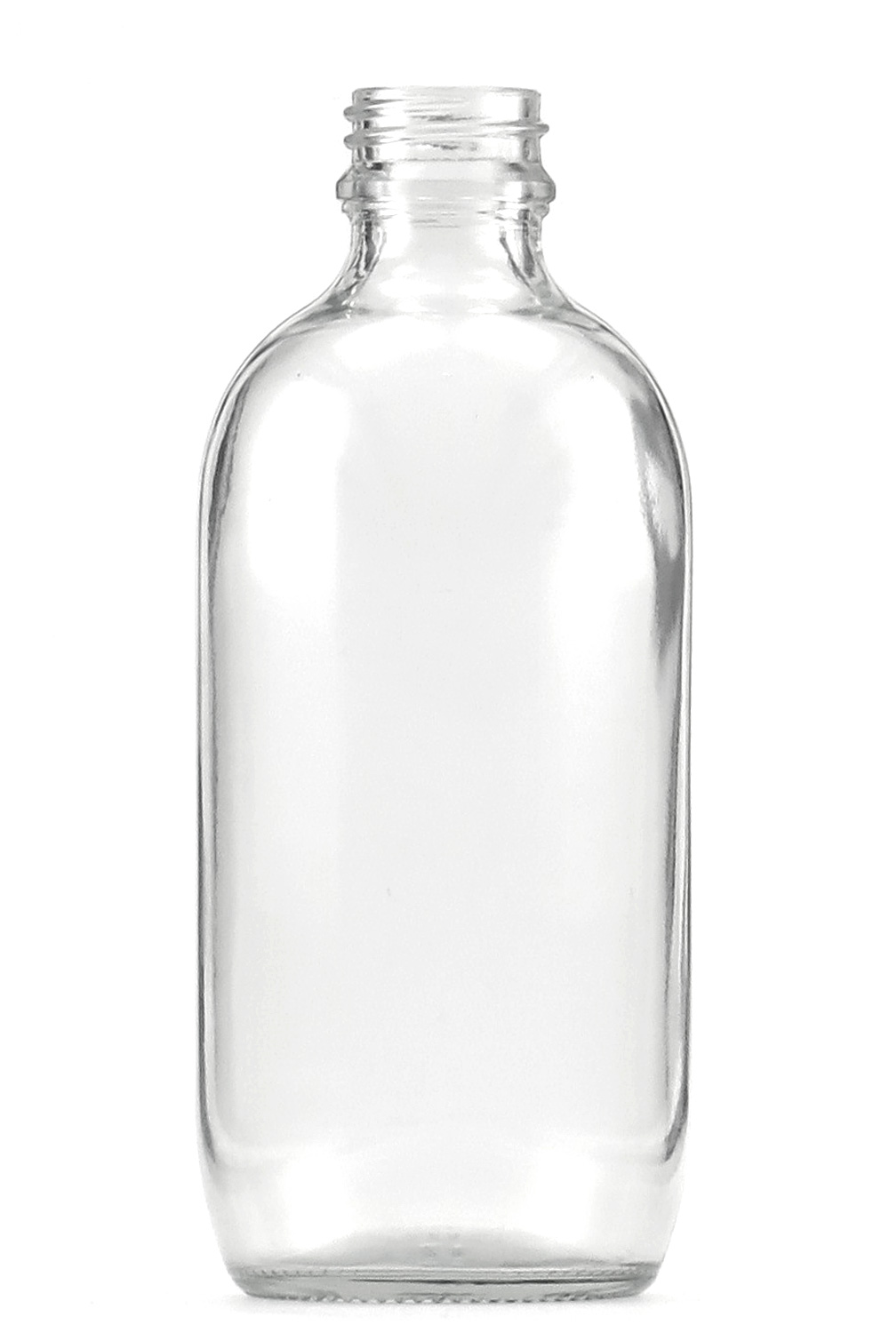 500ml Clear / Flint Glass Round - Pharma Bottle (Pack of 20) - Click Image to Close